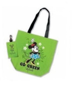 Minnie Mouse Eco Friendly Reusable Grocery Bag - Green