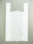 "Plastic Bag-Plain White 43cm x 20cm x 29"" 18 mic (0.72 mil) Heavy Duty 500 bags/cs"