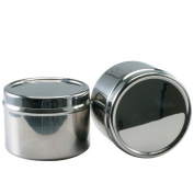 Stainless Steel Stacking Spice Canister - 7.6cm Diameter