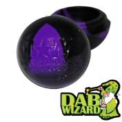Purple & Black Wax Silicone Non Stick Container Oil Crumble Ball