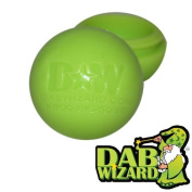 5 Light Green Silicone Goo Honey Non Stick Oil Wax Ball Jar