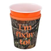 I'm Fixin' To! Mossy Oak Camo Koozie Mossy Oak Camo Camouflage Solo Cup Holder