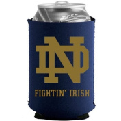 Notre Dame Fighting Irish Ncaa Blue Collapsible Can Cooler -