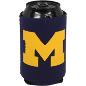 Michigan Wolverines Ncaa Navy Blue Collapsible Can Cooler -