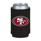 San Francisco 49ers NFL Black Collapsible Can Cooler -