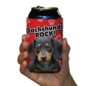Dachshunds Rock! Koozie set of 6