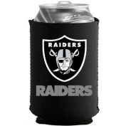 Oakland Raiders NFL Black Collapsible Can Cooler -