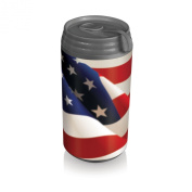 Picnic Time Insulated Micro Can Cooler, American Flag