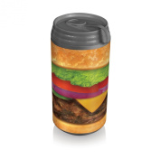 Picnic Time Insulated Micro Can Cooler, Burger Can