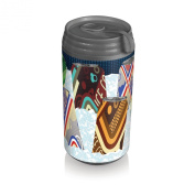 Picnic Time Insulated Micro Can Cooler, Classic Cans