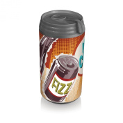 Picnic Time Insulated Micro Can Cooler, Retro Pop
