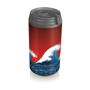 Picnic Time Insulated Micro Can Cooler, Tsunami