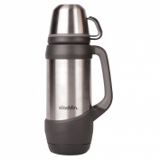 aladdin CHALLENGER stainless water bottle 1L Silver 073-31987