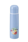 Pearl Princess _Snow White_ double stainless steel bottle 500 (sax blue) M-5233