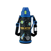 Zojirushi Stainless Steel Cool Bottle with Pouch 0.52L Cosmic Blue