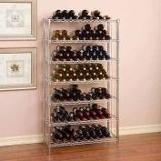 Seville Classics UltraZinc 168-Bottle 7-Shelf Wine Rack