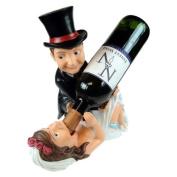 Bride and Groom Guzzler Wine Holder