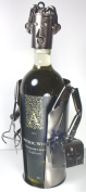 NEW! Doctor Wine Bottle Holder - 100% Recycled Metal