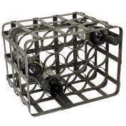 Urban Designs Industrial 12-Bottle Table Top Metal Wine Rack