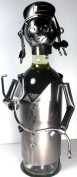 NEW! Nurse Wine Bottle Holder - 100% Recycled Metal
