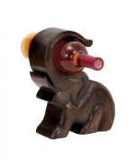Plutus Brands Design Wood Wine Holder with Great Finesse