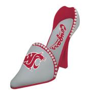 Washington State Cougars High Heel Shoe Bottle Holder