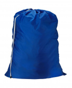 NYLON LAUNDRY BAG - JUMBO - CAMP, COLLEGE DORM ROYAL BL