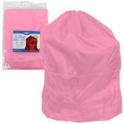 Trademark Home Heavy Duty Jumbo Sized Nylon Laundry Bag, Pink