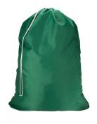 NYLON LAUNDRY BAG - JUMBO - CAMP, COLLEGE DORM GREEN