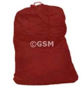 NYLON LAUNDRY BAG - X LARGE - CAMP, COLLEGE DORM RED