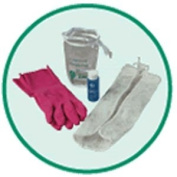 Accessory Package Detergent, - Rubber Gloves, Laundry Bag, Size 4, Large, Model 9310