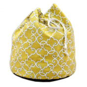Chooty & Company Woburn Sunflower 50cm Round Laundry Bag with 4 2.5cm Grommets