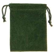 Green Velveteen Bag (3 x 4)