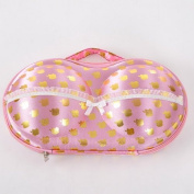 Housweety Portable Bra Underwear Storage Oganizer Box Case