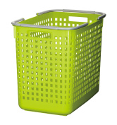 Like-it SCB-5 Plastic Laundry Basket, 39cm H by 31cm W by 47cm D