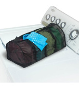 Laundry 4 Section Micro Mesh Bag Colour