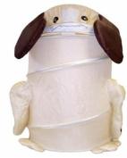 Round Dog Laundry Hamper