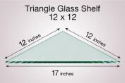 Triangle Glass Shelf 12 x 12