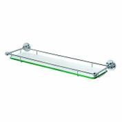 Gatco 1465 Premier Tempered Glass Shelf, Chrome