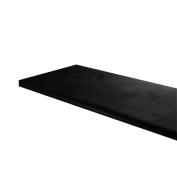 30cm inch x 120cm inch Wood Shelf for Slat wall, Grid wall, and Merchandiser Displays - Black