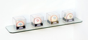 Glass Corner Shelf 15cm D X 60cm W 0.6cm Thick Rectangle