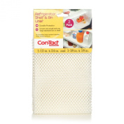 Con-Tact Brand Pack of Two Non-Adhesive Refrigerator Bin Liners, White, 30cm x 60cm and 46cm x 46cm