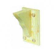 Waddell Mfg Co 1350/TWB401FSC Shelf Bracket With Backplate