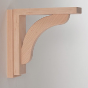 Corbels for Countertops and Shelves - Cherry Concave 8