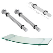 Dolle Polished Chrome Atlas Shelf Support - 20cm - Pair