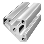 80/20 40 SERIES 40-4045 LITE 40mm X 40mm X 45 DEGREE LITE T-SLOTTED EXTRUSION x 2440mm