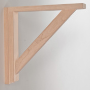 Corbels for Countertops and Shelves - Cherry Straight 12