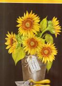 Sunflower in a Cowboy Boot Shelf Liner
