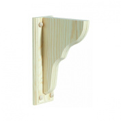 Waddell Mfg Co 1352/TWB-801 Shelf Bracket With Backplate