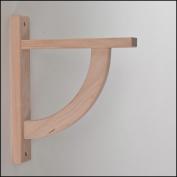 Wood Shelf Bracket - Cherry Convex 10